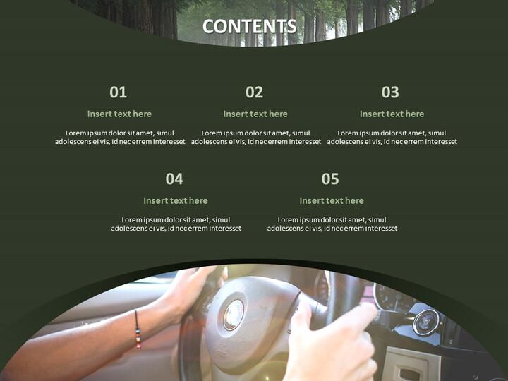 운전 - 무료 구글 슬라이드 템플릿 디자인_02