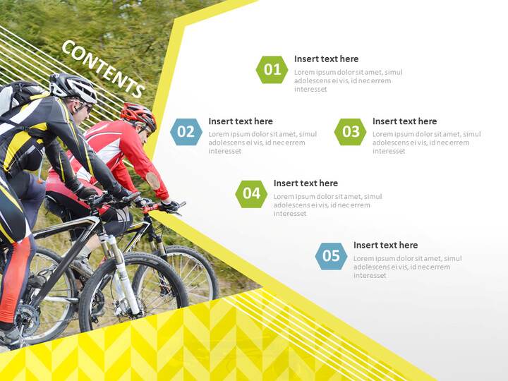 Free Google Slides Backgrounds - Mountain Bicycle_02