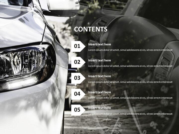 고급 자동차 - 무료 Google 슬라이드 템플릿_02