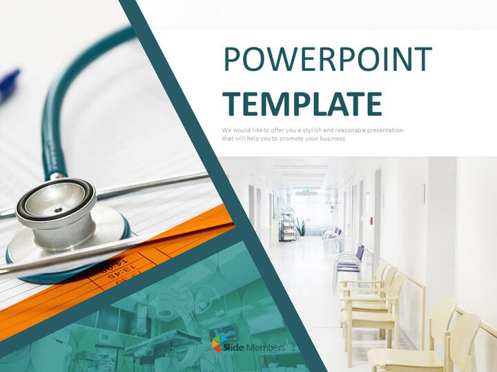 병원 시설 - 전문가 구글슬라이드 무료 템플릿_01