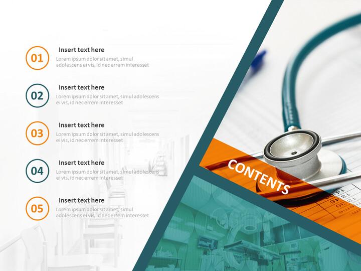 병원 시설 - 전문가 구글슬라이드 무료 템플릿_02