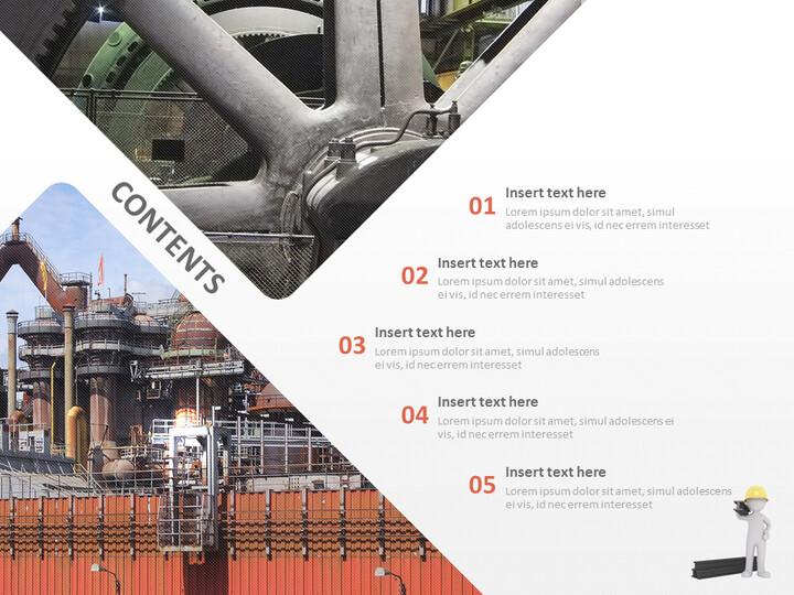 철강 공장 - Google 슬라이드 템플릿 무료 다운로드_02