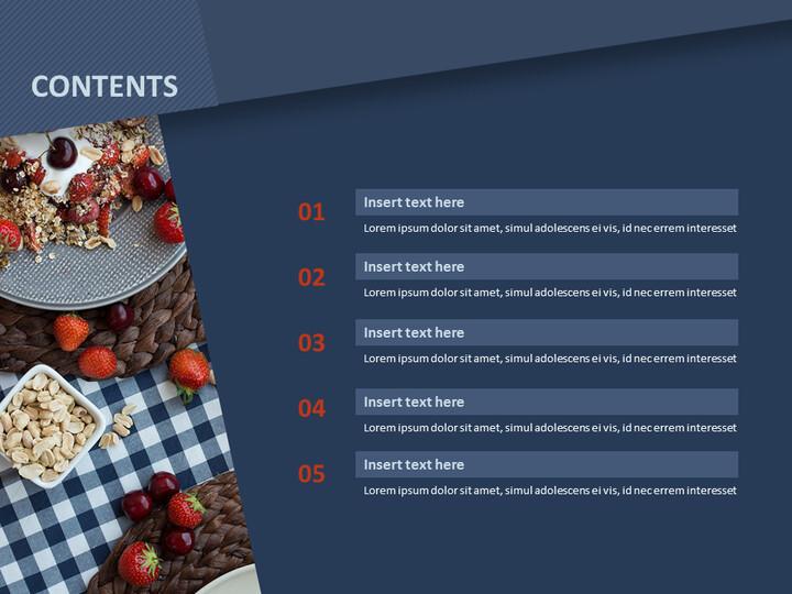 딸기 시리얼 - 무료 구글 슬라이드 템플릿 디자인_02