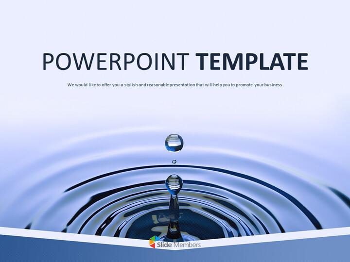 water Drop - Free Business Google Slides Templates_01