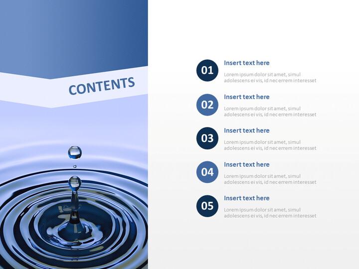 water Drop - Free Business Google Slides Templates_02