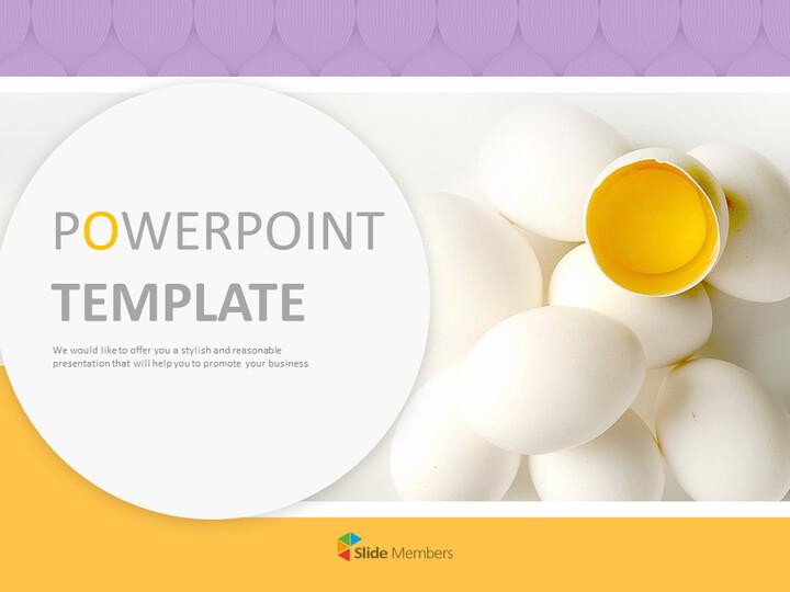 노란 계란 - Google 슬라이드 무료 다운로드_01