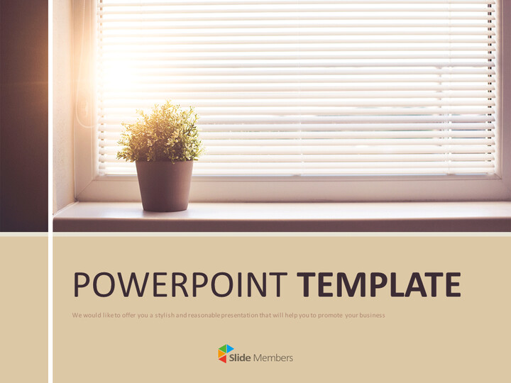 A Warm Afternoon - Free Google Slides Template_01