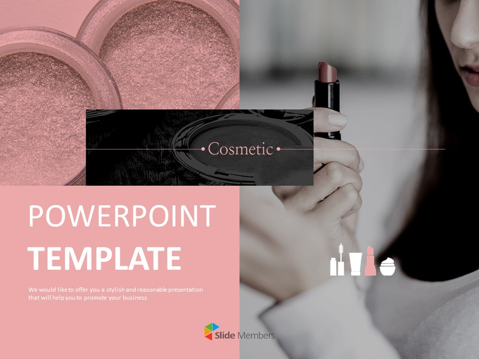 Cosmetic Free Google Slides Backgrounds
