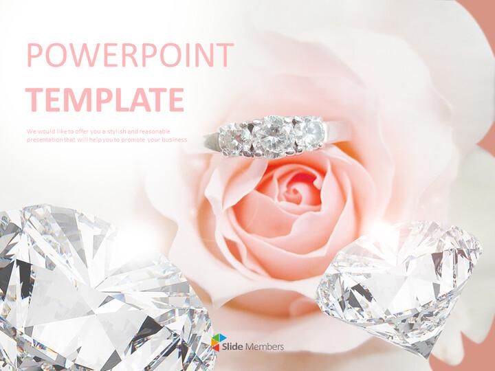 다이아몬드 반지 - Google 슬라이드 템플릿 무료 다운로드_01