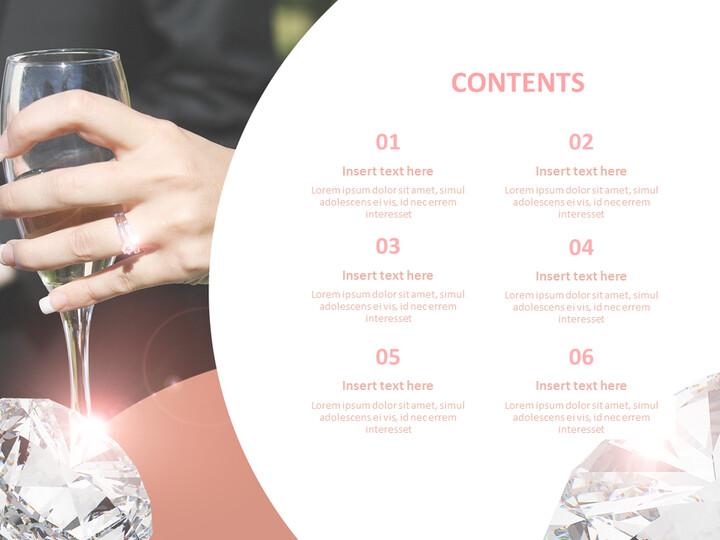 다이아몬드 반지 - Google 슬라이드 템플릿 무료 다운로드_02