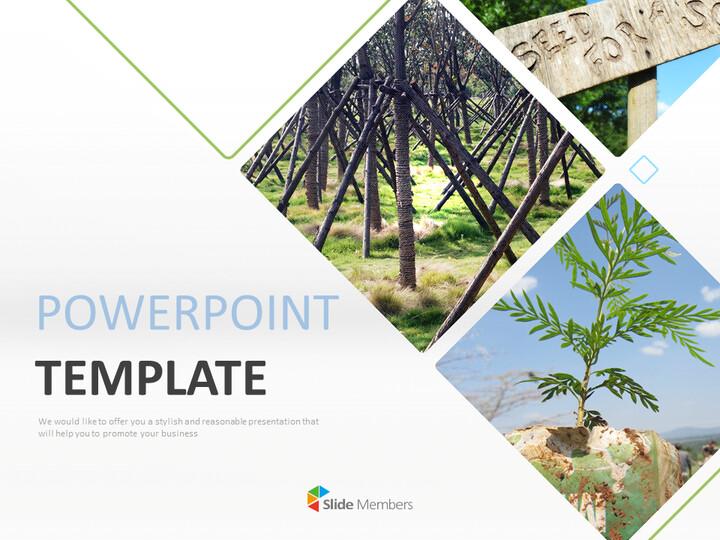 무료 Google 슬라이드 템플릿 - 나무 그늘에서 쉬십시오_01