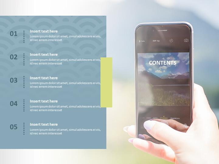 Google 슬라이드 템플릿 무료 다운로드 - 스마트 폰으로 사진 촬영_02