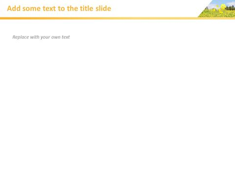 Rape Blossoms - Free Business Google Slides Templates_03