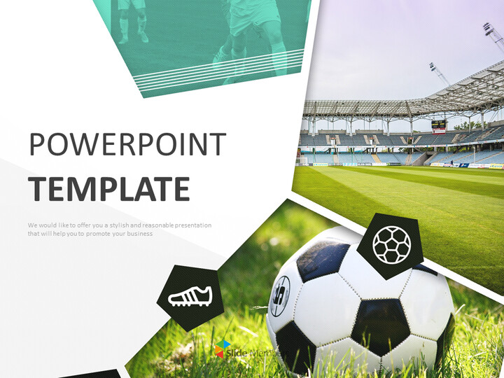 Soccer Stadium - Google Slides online Free_01
