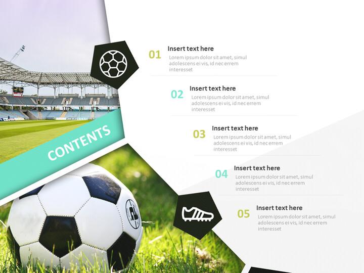 Soccer Stadium - Google Slides online Free_02