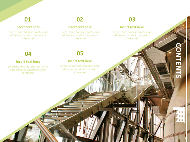 환경 친화적 인 공장 - 무료 Google 슬라이드 배경_02