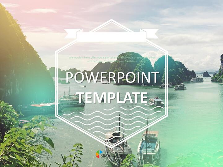 Google 슬라이드 무료 다운로드 - 베트남 하롱 베이_01