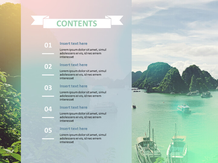 Google 슬라이드 무료 다운로드 - 베트남 하롱 베이_02