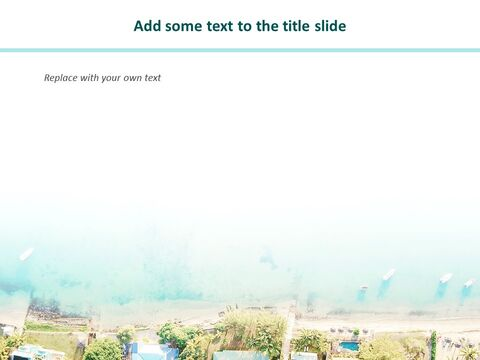 무료 Google 슬라이드 - 해변 도시_03
