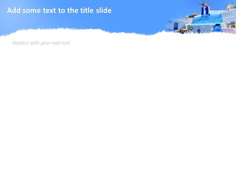 Google 슬라이드 이미지 무료 다운로드 - 블루 산토리니_04