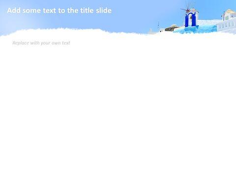 Google 슬라이드 이미지 무료 다운로드 - 블루 산토리니_05