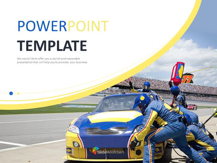 Google Slides Templates Free Download - Car Racing_01