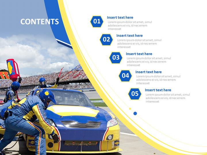 Google Slides Templates Free Download - Car Racing_02