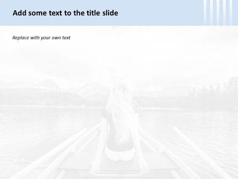 여자와 강에 보트 - 무료 Google 슬라이드 배경_03