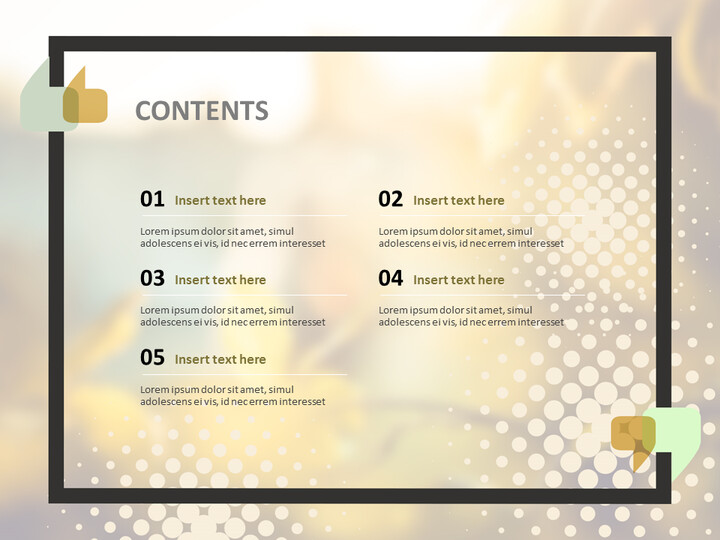 Free Google Slides Template Design - Leaves Turning Red and Yellow_02