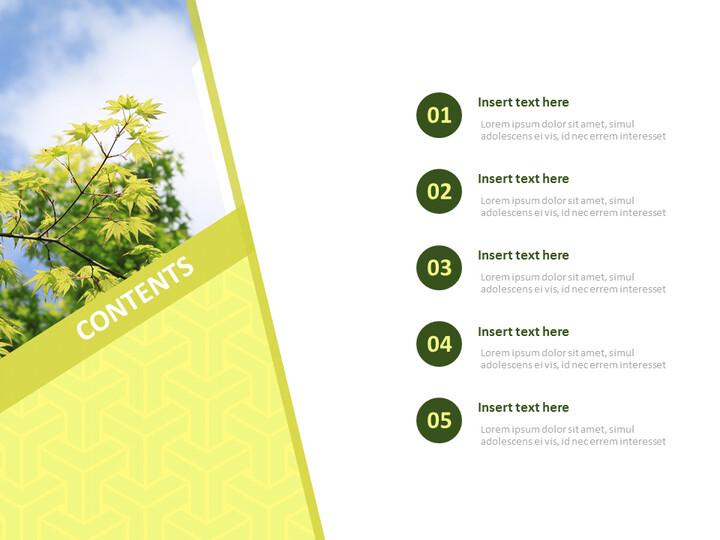 Google 슬라이드 이미지 무료 다운로드 - 녹색 잎_02