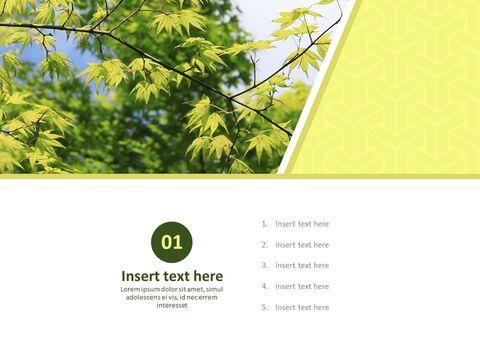 Google 슬라이드 이미지 무료 다운로드 - 녹색 잎_03