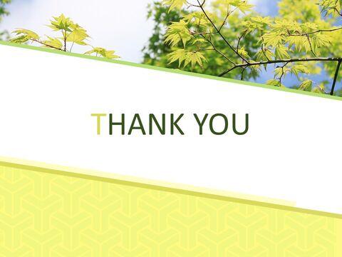 Google 슬라이드 이미지 무료 다운로드 - 녹색 잎_06