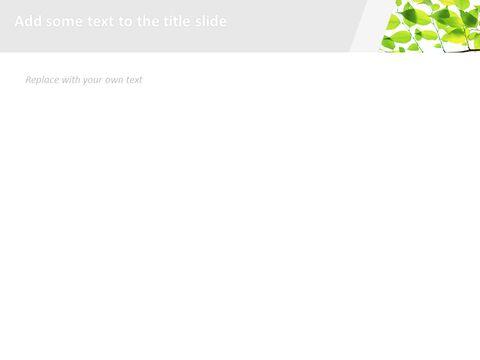 6 월 신선한 잎 - 무료 Google 슬라이드 템플릿_04