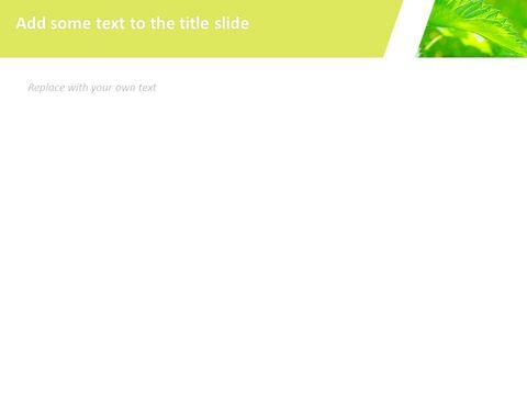 6 월 신선한 잎 - 무료 Google 슬라이드 템플릿_05