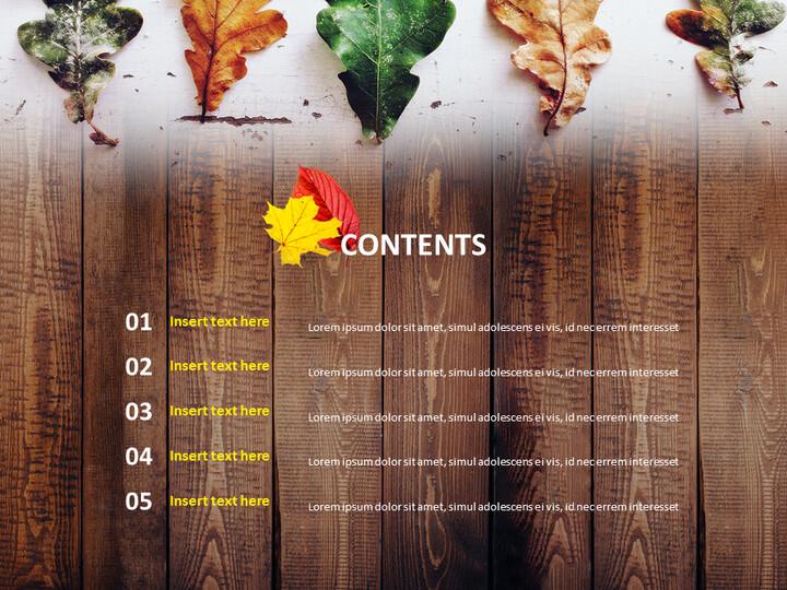 찢어진 잎 - 구글 슬라이드 템플릿 무료 다운로드_02