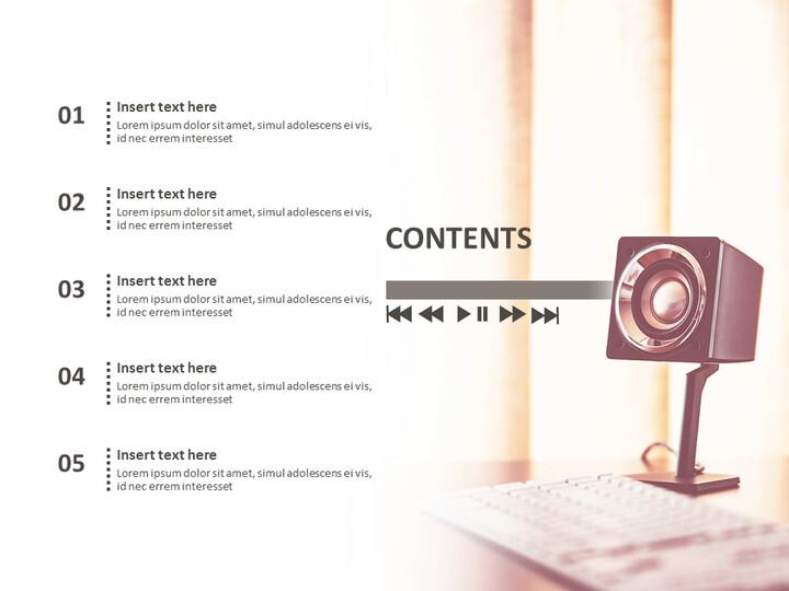 인테리어 용 스피커 - Google 슬라이드 이미지 무료 다운로드_02