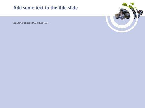 블루 베리 스무디 - 무료 구글 슬라이드 템플릿 디자인_03