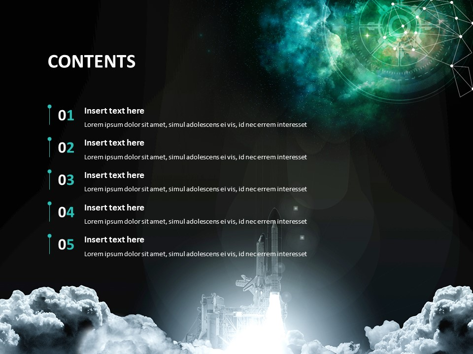 Free Google Slides Backgrounds Mystery Of Universe