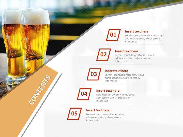 무료 Google 슬라이드 템플릿 - 맥주_02