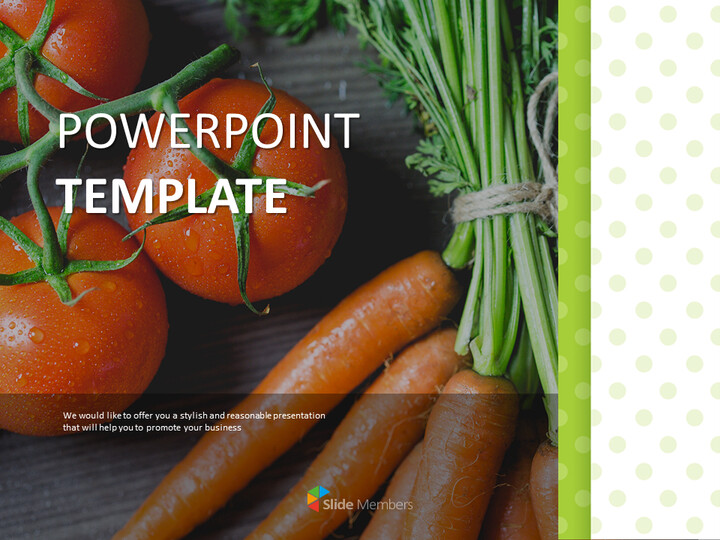 Google 슬라이드 이미지 무료 다운로드 - 토마토와 당근_01