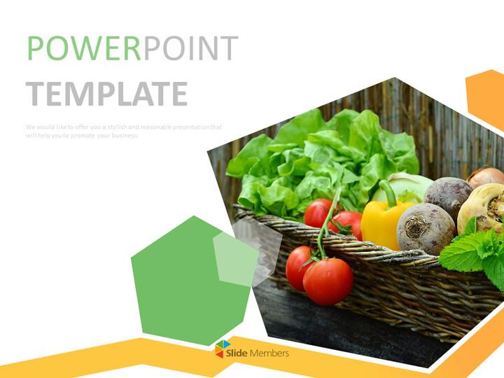 야채 - 무료 구글 슬라이드 템플릿 디자인_01