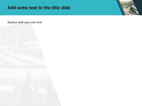 분할 된 고속도로 - 무료 Google 슬라이드 템플릿 디자인_03