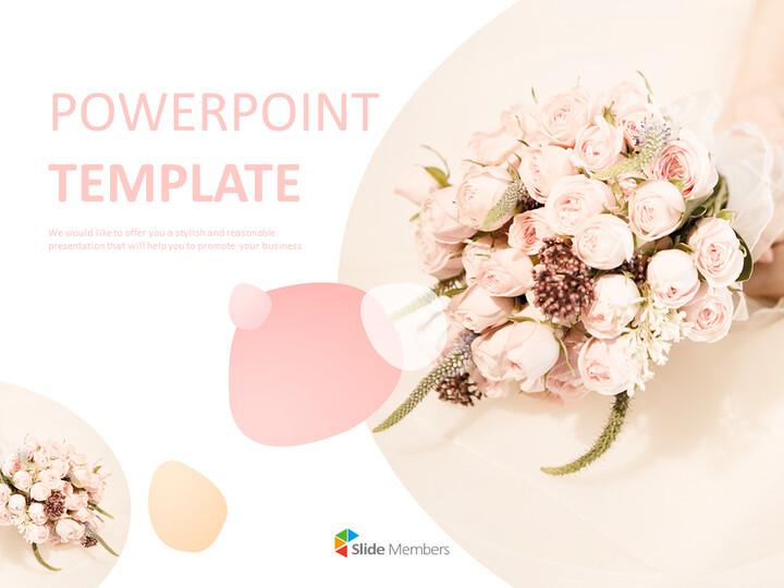 Free Google Slides - Wedding Bouquet_01