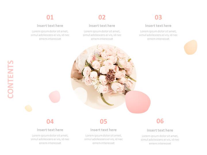 Free Google Slides - Wedding Bouquet_02