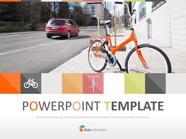 Google 슬라이드 이미지 무료 다운로드 - 자전거_01