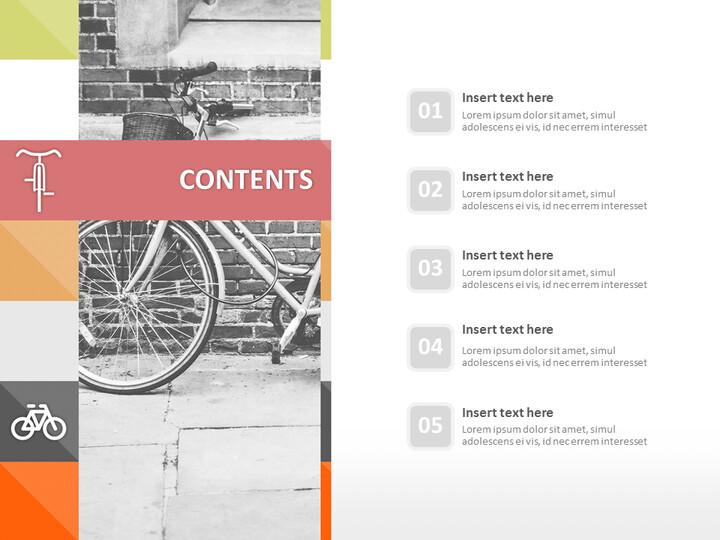 Google 슬라이드 이미지 무료 다운로드 - 자전거_02