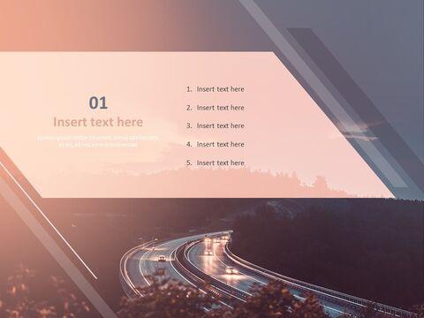 Google 슬라이드 이미지 무료 다운로드 - 밤에 고속도로_03
