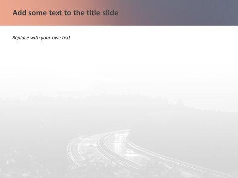 Google 슬라이드 이미지 무료 다운로드 - 밤에 고속도로_05