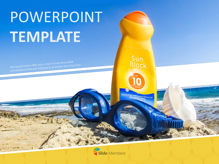 Suncream - Google Slides Templates Free Download_01