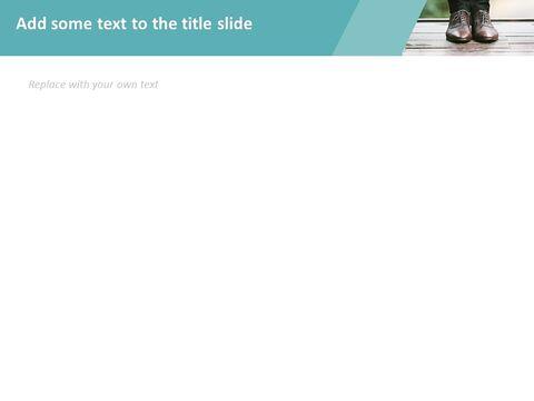 신발을 신는 남자 - 무료 Google 슬라이드 템플릿 디자인_03